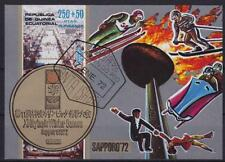 Sport Olympiade Sapporo Block Goldmedaille Äquatorial Guinea 1972, Olympic Games