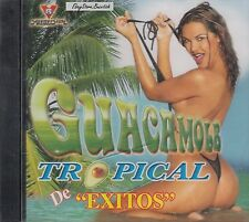 La Quimik Clave Tropical La Moda Guacamole Tropical De Exitos CD New Sealed