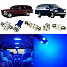 16x Blue LED lights interior package kit for 1995-1999 Chevy/GMC Suburban CS2B