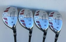iDrive Made Hybrids #3 #4 #5 #6 Taylor Fit STIFF Graphite Rescue Iron Woods
