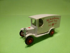 EFSI HOLLAND FORD T 1919 - AMBULANCE DUTCH PROMO - NEDERLANDSCHE ROODE KRUIS