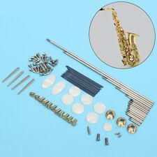 Alto Sax réparation pièces, Vis+ Saxophone Ressorts + Clé Boutons Inlays