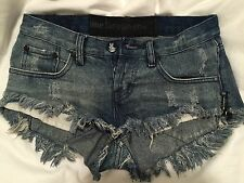 one teaspoon denim jean Bonitas shorts 24