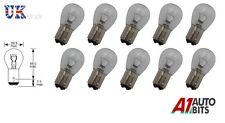 Boîte de 10 clair BAY15D 380 P21 / 5W Arrêter Queue Arrière Voiture Lumière de frein ampoules auto 12v