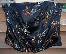 WALLIS Black Floral Nouveau Riches Stiffened Bustier Size: 14 BNWT