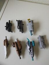 TRANSFORMERS DOTM MECHTECH WEAPONS LOT, STARSCREAM, Darksteel & others, 2011
