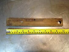 "UNUSUAL J R RABONE AND SON 10"" LEVEL AND RULE IN ONE"