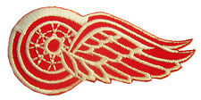 New NHL Detroit Red Wings Logo Hockey embroidered iron on patch. (IB16)