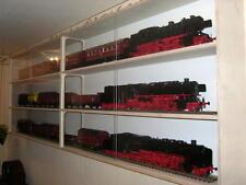 068 Sammler Vitrine Modelleisenbahn Spur 0 220cm lang