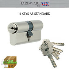 45x45Euro Cylinder Security Anti Drill Barrel Lock Door Aluminium Wood&PVC Doors