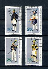 1978 DDR  Satz  gestempelt  Mi-Nr. 2318 - 2321  Paradetrachten