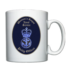 WRNS - Petty Officer - PO - Personalised Mug