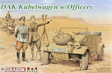 Dragon 6364 1/35 DAK Kubelwagen w/Officers