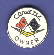 CORVETTE OWNER HAT PIN LAPEL PIN TIE TAC ENAMEL BADGE #0946