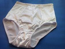 "Women Panties,Briefs,Control Panties ""Ann Diane"" Size S. Small White Satin"