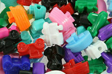 "50 Vehicle Mix Beads 1"" 25mm Car Boat Airplane Train Beadery Made in USA"