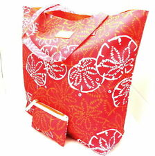 Estee Lauder Lilly Pulitzer Shell Beach Tote Bag Set