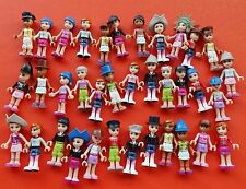 LOT OF 6 LEGO Friends and other mix Random ACTION FIGURES  #KJK8