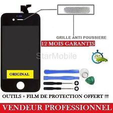 VITRE TACTILE IPHONE 4 NOIR ECRAN LCD + CHASSÎS ASSEMBLER + OUTILS + FILM