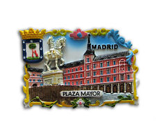 162882 IMAN NEVERA - FRIDGE MAGNET - MAYOR CALLE  SOUVENIR MADRID AIMANT MAGNETE
