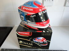 1/2 Scale BELL Helmet Helm Casque Romain Grosjean Lotus Renault 2014 *SIGNED*