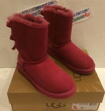 UGG Ladies BAILEY BOW EXOTIC SCALES  Boots Size US 8 UK 6.5 1007526 W $205.00