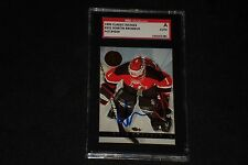 MARTIN BRODEUR 1993 CLASSIC IMAGES SIGNED AUTOGRAPHED CARD #101 SGC AUTHENTIC