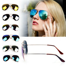 7 PCS Unisex Women Men Vintage Sunglasses Aviator Mirror Len Glasses Eyewear