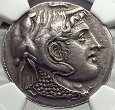 PTOLEMY I Silver Tetradrachm 311BC Egypt Silver Greek Coin NGC Certified AU*