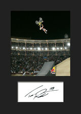 TRAVIS PASTRANA #1 Signed Photo A5 Mounted Print - FREE DELIVERY
