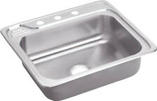 Elkay ECC25224 Celebrity Top Mount Single Bowl Kitchen Sink