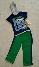 Little Rebels Brand, 2T for Boys, 2-piece Shirt & Track pants set, NWT