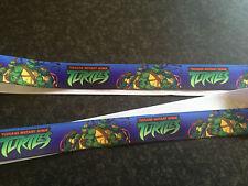 """1m Teenage Mutant Ninja Turtles Printed Grosgrain Ribbon, 7/8"""" 22mm"""