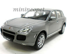 AUTOart 78061 PORSCHE CAYENNE TURBO 1/18 DIECAST MODEL CAR GREY
