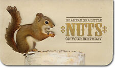Go A Little Nuts Die Cut 3D Birthday Card by Paper House Productions