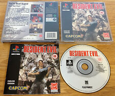 RESIDENT EVIL for SONY PS1, PS2 & PS3 COMPLETE by Capcom