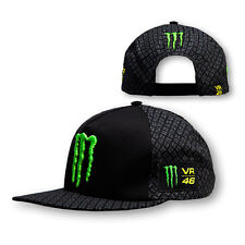 VALENTINO ROSSI VR 46 MENS MONSTER ADULTS 2015 FLAT PEAK TRUCKER STYLE CAP HAT