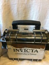INVICTA 3 SLOT CASE MIRROR CHROME Limited Edition with Scratches Dive