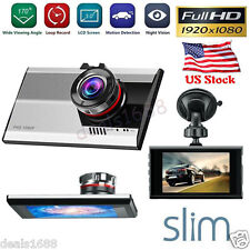 "3"" FHD 1080P Night Vision Car DVR Vehicle Camera Video Recorder Dash Cam USB US"