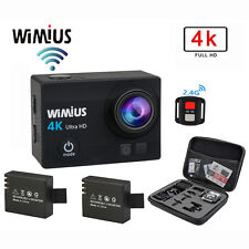 WiMiUS 16 MP 4K Wifi Waterproof Action Camera +2.4G Remote Control HD Cam+bag