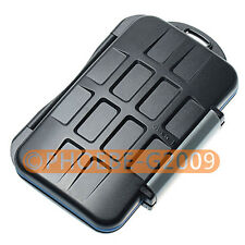 Waterproof Extremely tough Memory Card Case MC-5 fo 4CF 2SD 2MicroSD 2MS Duo 2XD