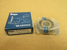 NIB KOYO 6200 2RS C3 BEARING DOUBLE RUBBER SHIELD 62002RSC3 62002RS 10x30x9 mm