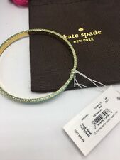 "$58 Kate Spade Hidden Crystal Bangle Bracelet Blue ""The Bangles"""