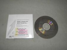 """Roxette - Wish I Could Fly RARE 1999 Israel Israeli Promo """"CDPRO 4217"""" CD 2xTrk"""
