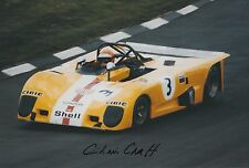Chris Craft Hand Signed 12x8 Photo Le Mans.