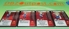 Dragonball Z DBZ TCG Panini Starter Deck Evolution Android 18 MP Set Levels 1-4!