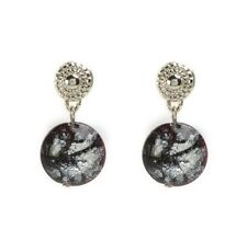 Antica Murrina Damasco 2--Handmade Murano Glass Earrings