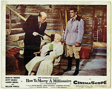 How To Marry A Millionaire Betty Grable Original c.1953 FOH Lobby Card 8759