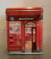 MAXWELL HOUSE CAPPUCCINO CAFE TIN CANISTER NEW