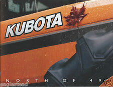 Equipment Brochure - Kubota - Canadian Tractor Product Line - Farm (E3065)